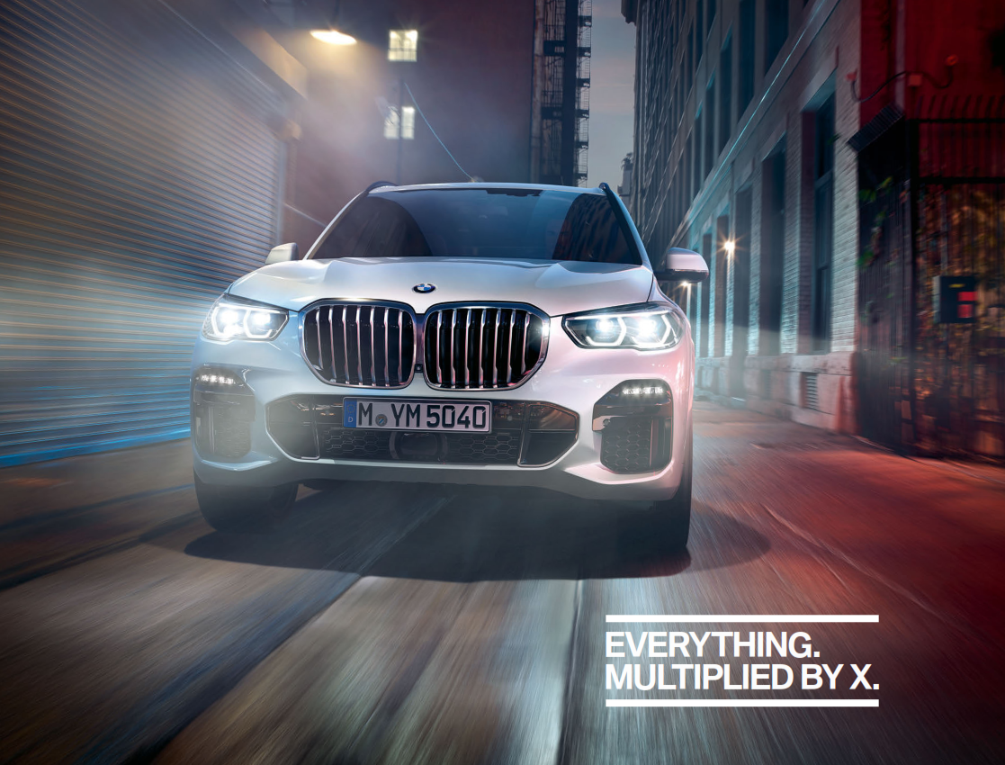 2019 BMW X5 Brochure (UK Version)