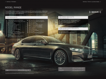 2020 BMW 7 Series Brochure (UK Version)