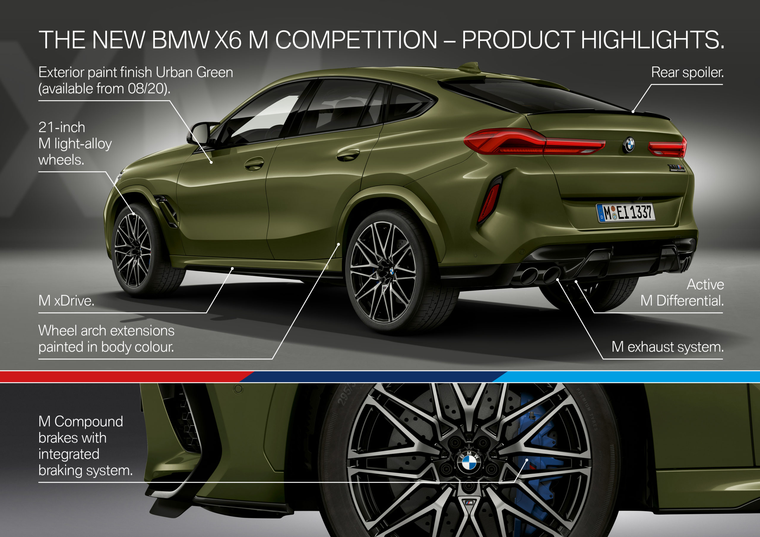 The new BMW X6 M - Highlights