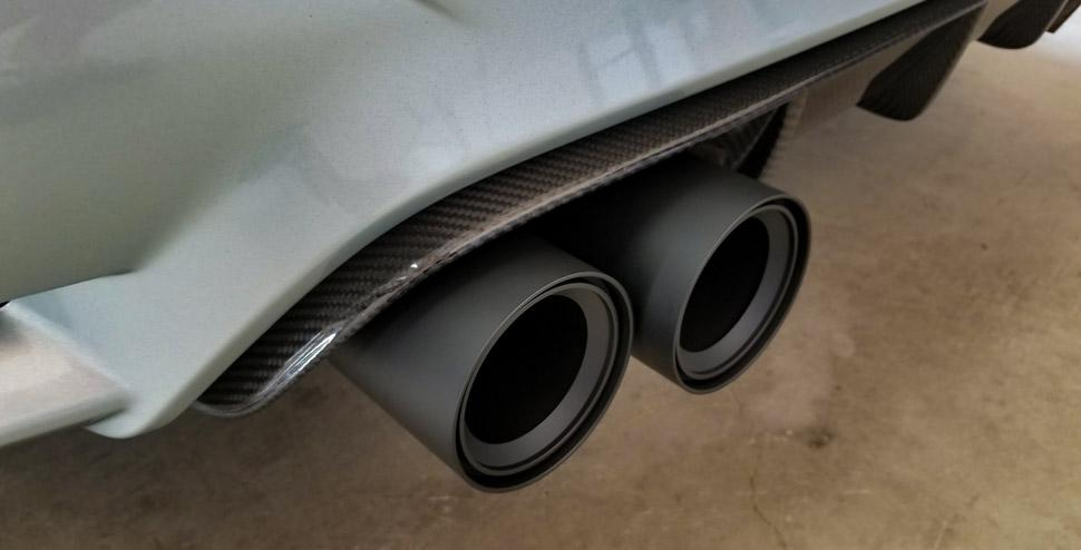 BMS Straight Cut Billet Exhaust Tips For M Cars (set of 4)