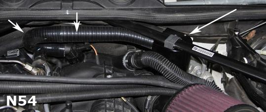 BMS Turbo Double Baffle Oil Catch Can for BMW N54