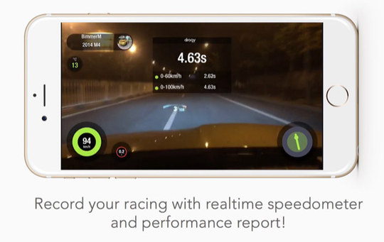 Dragy GPS Based Performance Meter ZA