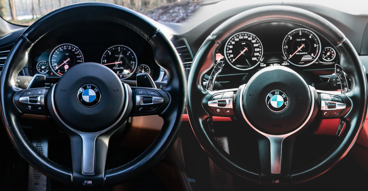 Forged Carbon fibre Paddle Shifters For BMW 11