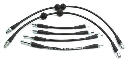 Stainless Steel BMW Brake Line Upgrade Kit