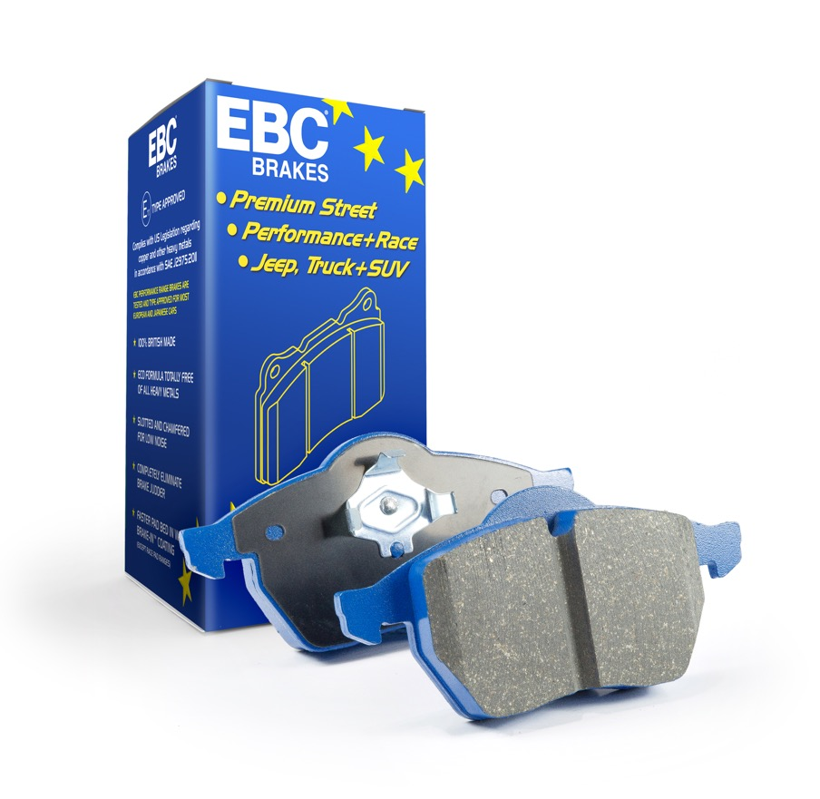 EBC BlueStuff Brake Pads TrackRecon