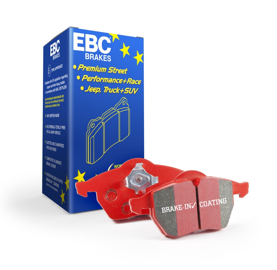 EBC Redstuff Brake Pads TrackRecon