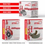 Optima Front Brake Discs For BMW 3 Series E90 325i, 330D, 330i