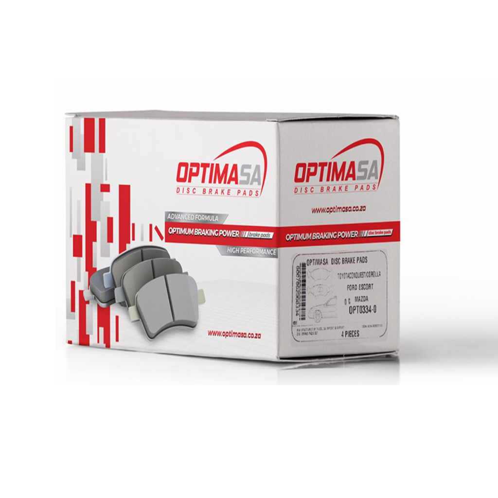 Optima Front Brake Pads For BMW E90 3 Series (320i, 323i, 330i)
